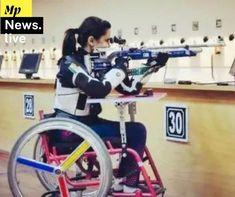 अवनि लेखारा को Tokyo Paralympics में निशानेबाजी में महिलाओं की 10 मीटर एयर राइफल स्टैंडिंग एसएच1 स्पर्धा में भारत का पहला पदक। Tokyo, Gym Equipment, Bike, Sports, Bicycle, Hs Sports, Tokyo Japan, Bicycles, Workout Equipment