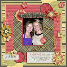 Friends Forever by Little Rad Trio http://store.gingerscraps.net/Friends-Forever-full-kit.html  After Party V2 by M&M Designs http://store.gingerscraps.net/After-Party-v2.html