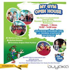 Buyaka My Gym'i ve derslerini tanımak için ücretsiz Open House günlerine davetlisiniz! #BuyakaBiBaşka #MyGym #OpenHouse #İndirim #BuyakaAvm