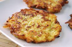 tortitas de calabacin y patata
