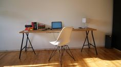 Ikea Lerberg + Gerton table