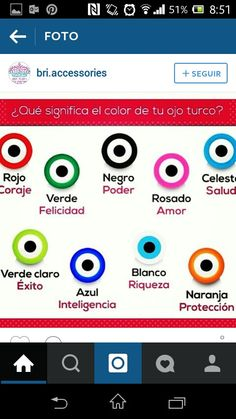 Significado color del ojo turco