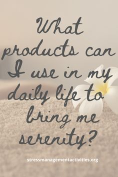 Wondering how to find serenity when your world is falling apart? Use these three affordable products daily for calm, inner-peace and serenity. Click the link to try them now. #stressmanagement #relax #tranquility #mindfulness #stressrelief Stress Relief Essential Oils, Best Stress Relief, Essential Oil Blends, Ways To Relieve Stress, My Daily Life, Mental And Emotional Health, Destress, Falling Apart, Stress Management