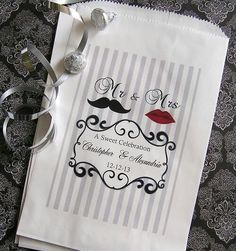 "Great wedding ""treat"" bag."