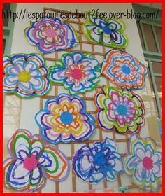 Divers Idées Arts Visuels Maternelle Yk World Flower Crafts