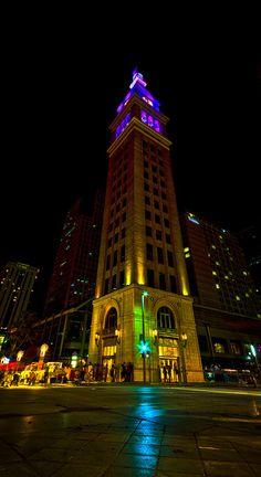 D&F Clock tower Denver