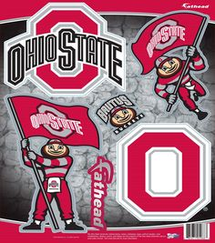 Ohio State University NCAA Teammate Logo Assortment
