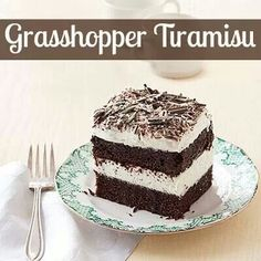 Grasshopper Turamisu