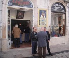 Visit a Ginginha Liquor Store in Lisbon, a travel experience on it's own