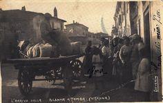 Verona - Tomba - Arrivo della polenta