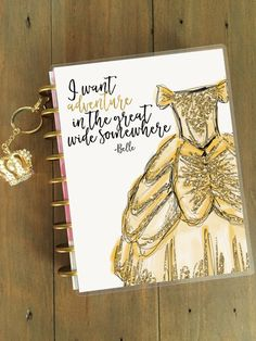 Disney prinses Planner Cover: Erin Condren door StylishPlanner