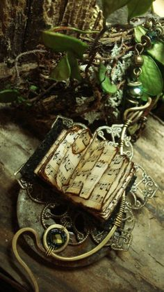 "~ wearable books ~ "" you alone can make my song take flight help me make the Music of the Night ..""  Music of the Night by Luthien Thy..."