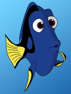 How To Draw Dori From Finding Nemo - Definitely one of my favorites so far! Cartoon Drawings Of Animals, Drawing Cartoon Characters, Cartoon Girl Drawing, Character Drawing, Character Design, Cartoon Head, Drawing Cartoons, Cartoon Drawing Tutorial, Drawing Tutorials