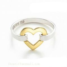 Tiffany & Co Outlet Colou Separatio Heart Ring [ TC06626] - $53.00 : Tiffany Outlet