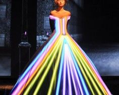 light projected dress | franck-sorbier-haute-couture-autumn-2012-