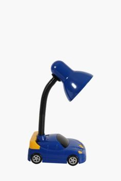 Excite your little one with this car study lamp. It is guaranteed to satisfy any car obsessed child.Mr Price Home is NRCS (SABS)