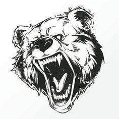Tatouage - Ours Susceptible - Achat / Vente TATOO . Bear Tattoos, Animal Tattoos, Body Art Tattoos, Ship Tattoos, Ankle Tattoos, Arrow Tattoos, Word Tattoos, Tattoo Sketches, Tattoo Drawings