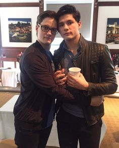 Justin and Ricardo