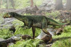 Dryosaure : image de synthèse d'un dryosaure sur L'Internaute Magazine