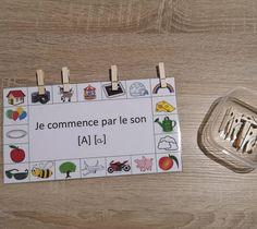 Montessori Activities: Phonology - My hectic mom life Preschool Literacy, Preschool Letters, Montessori Activities, Alphabet Activities, Activities For Kids, Kindergarten, French Course, Future Jobs, Letter Sounds