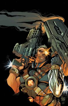 Cable #1 (Variant) by Adam Kubert