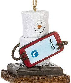Smores Ornament - Smores Christmas Ornaments - S'mores Original 2020