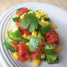 """Mexican Cucumber Salad 