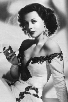 """classic-hollywood-glam: """"Hedy Lamarr """" The scientist who pioneered what became Wi-Fi tech"""