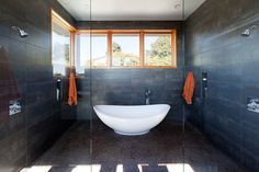 Brettkelly Residence, Oakland, CA - contemporary - bathroom - san francisco - Dotter & Solfjeld Architecture + Design