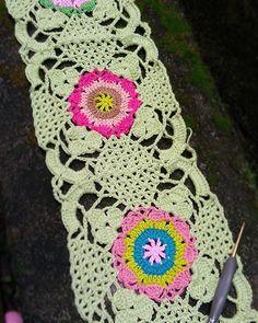 Joining the #rusticlacesquare  #crochet #crocheting #crochetaddict…