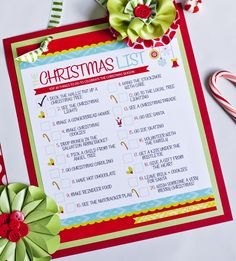 THE Christmas To-Do List {Free Printable} on http://frogprincepaperie.com