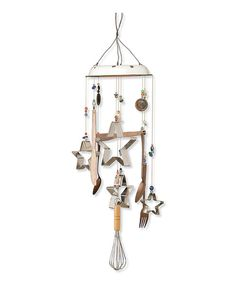 Take a look at this Cookie Cutter Wind Chime on zulily today!