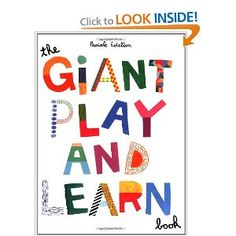 Giant Play and Learn Book: Chronicle Books: 9780811862547: Amazon.com: Books