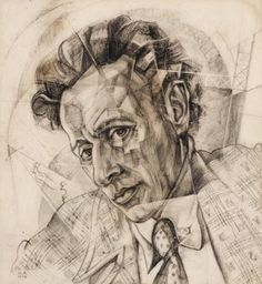 Yury Annenkov (1889-1974) – Portrait de V.Meyerhold 2 (1922)