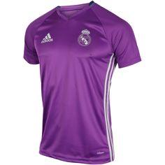 d4a8c8130 Køb Adidas Real Madrid Trænings T-shirt 2016 17 i Hvid