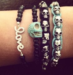All these #skull accessories are cute