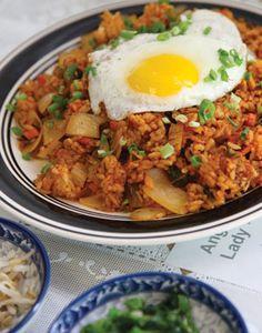 Kim Chee Fried Rice #hawaii