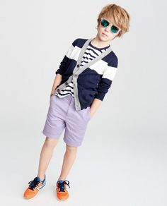 Boys' Looks We Love : Boys' Clothing : Free Shipping | J.Crew Little Boy Fashion, Kids Fashion, Our Kids, Kids Boys, Kid Haircuts, Photoshoot Inspiration, Child Models, Little Boys, Boy Outfits