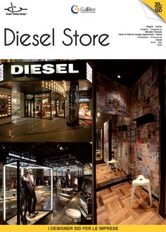 Diesel Store - Stores designed by Michele Trevisan - Produced by Diesel (2010)