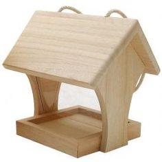futterh uschen aus holz selber bauen vogelhaus vogel. Black Bedroom Furniture Sets. Home Design Ideas