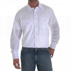 Wrangler Men's Big-Tall Sport Western Long Sleeve « Clothing Impulse