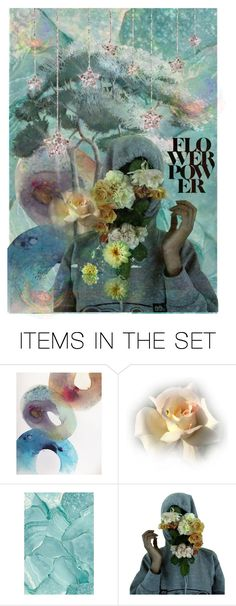 """""""*flower power*      """"TOP ART SET"""""""" by karineg ❤ liked on Polyvore featuring art"""