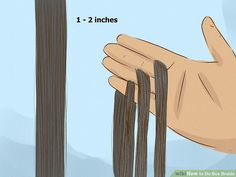 How to Do Box Braids. Box braids can give you the chic, bohemian look you've always wanted and make maintaining your hair day-to-day much easier. Getting box braids professionally done at a salon can be expensive, but you can create this. Box Braids Updo, Tight Braids, Box Braids Hairstyles, African Hairstyles, Down Hairstyles, Hairstyles Videos, Black Girl Braided Hairstyles, Black Girl Braids, Girls Braids