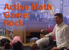 Gordon Hamilton of Math Pickle posted Rock, a new active math game for grades K–2. If you have a set of kids and a few minutes to spare, give it a try!