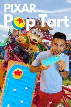 This Disney Pop Tart is a true delight and very easy to make!😬 #disney #disneyrecipes Disney Pop, Disney Parks, Disney Pixar, Walt Disney, Easy Recipe To Make At Home, Food To Make, Disney World Hollywood Studios, Disney Secrets, Toy Story Party