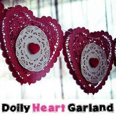 2 Gorgeous Valentine Craft Ideas {Valentine Banners}