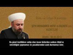 Şeyh Muhammed Muta' Haznevi (ks) Adana Sohbeti 5/8 - YouTube