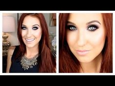 Classic Cool Tone Smokey Eye - Jaclyn Hill - LOVE this look; trying it ASAP, whenever I next go out at night.