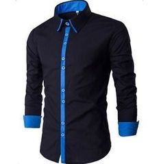 Cheap chemise homme Buy Quality slim fit dress shirt directly from China fit dress shirts Suppliers: New Men Shirt Chemise Homme 2016 Band Patchwork Slim Fit Dress Shirts Casual Long Sleeve Shirt Men Camisa Masculina M-XXL Slim Fit Dress Shirts, Slim Fit Dresses, Fitted Dress Shirts, Shirt Dress, Collar Dress, Casual Shirts For Men, Men Casual, Formal Shirts, Long Sleeve Fitted Dress