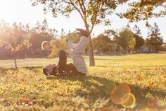 san jose photographer - family fun - family of three - park - fall session